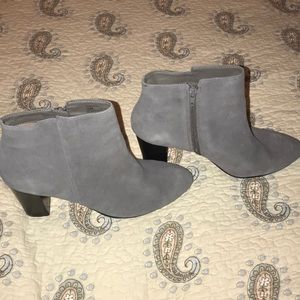 Grey, ankle boots by 14th & Union
